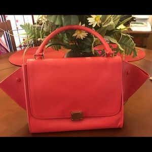 Red Celine Trapeze